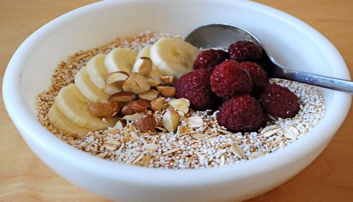 Cereal de amaranto reventado con alto contenio en calcio