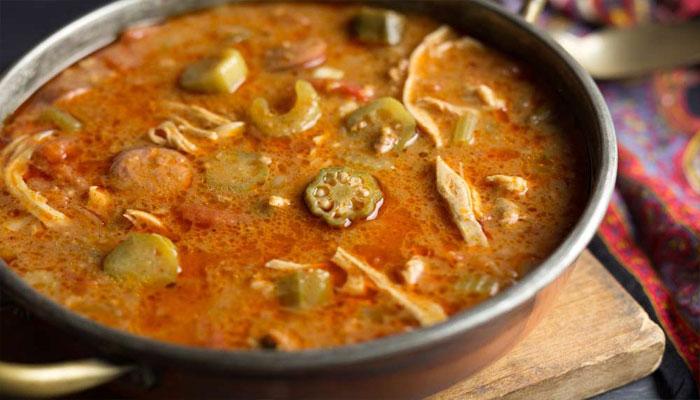 Quimbombó en sopa