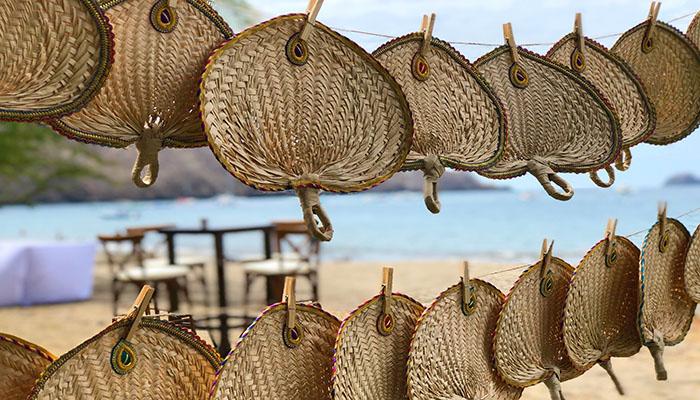 abanico de palma de talipot